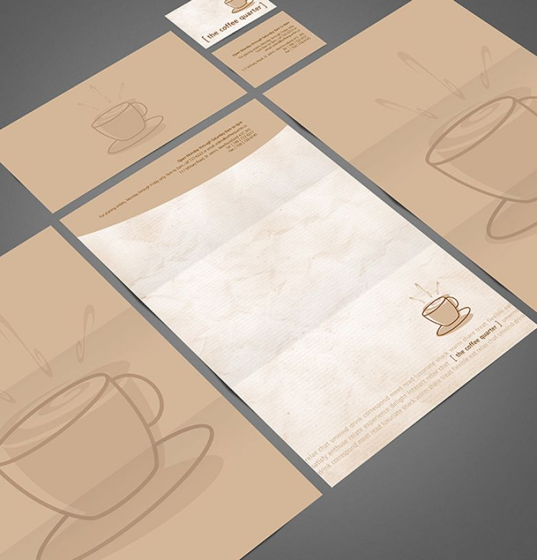 The Coffee Quarter Stationery