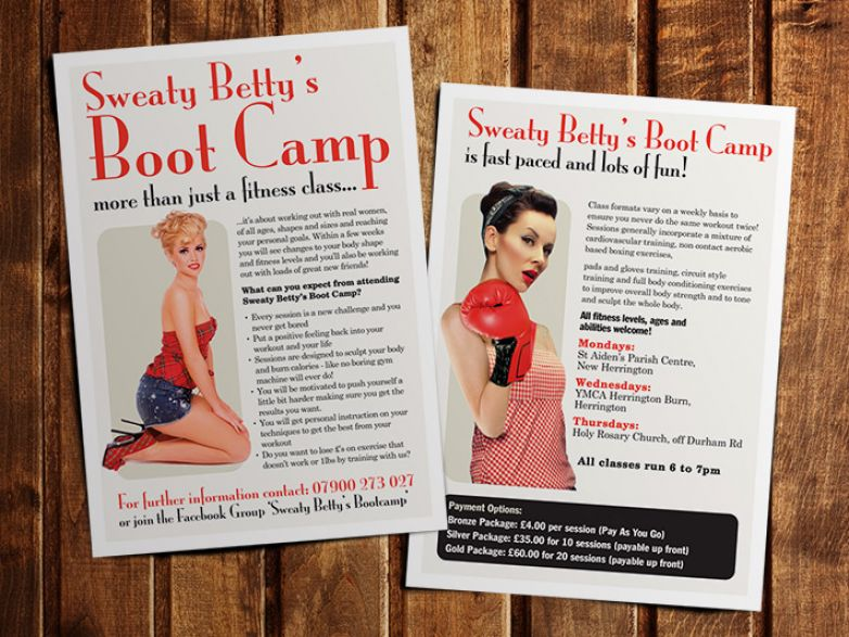 Sweaty Betty's Boot Camp
