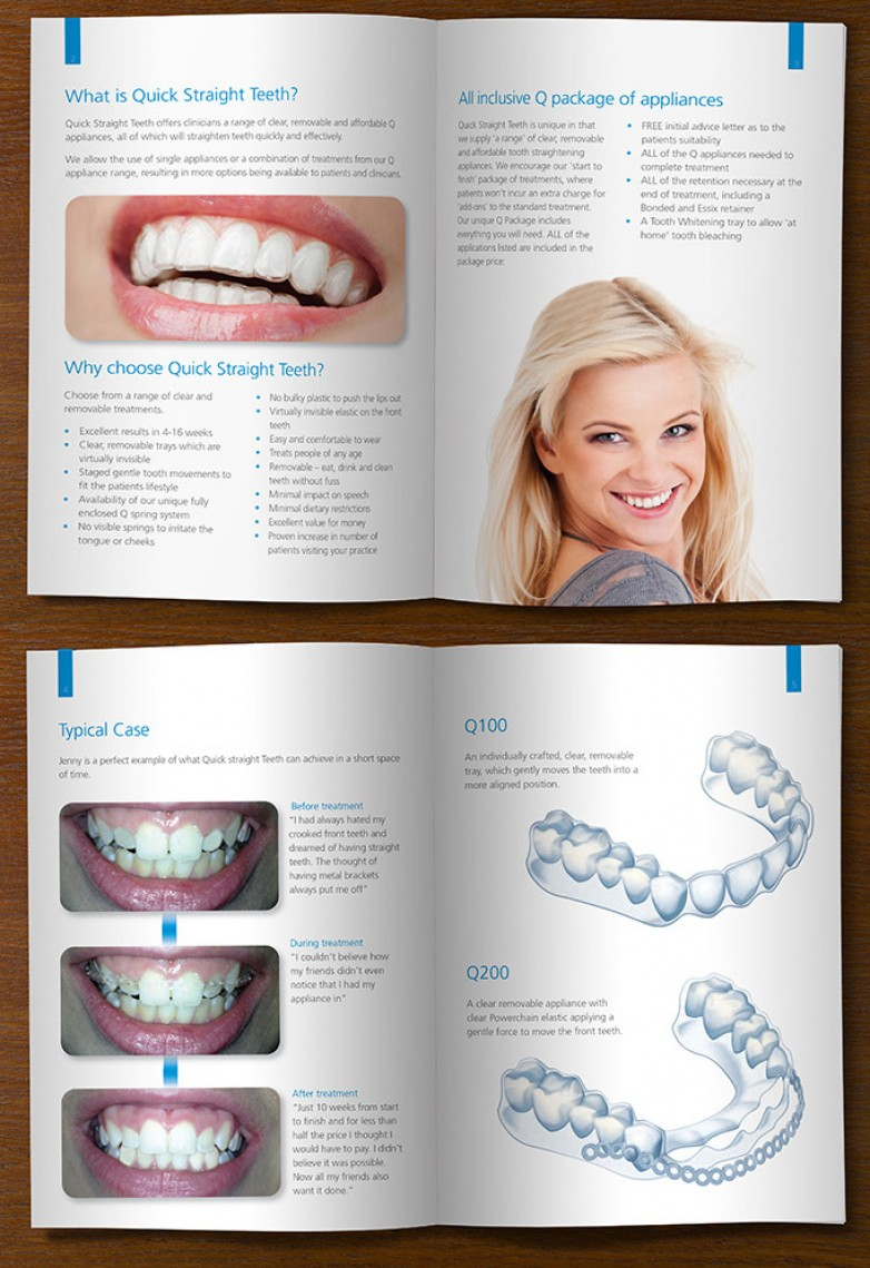 Quick Straight Teeth Brochure