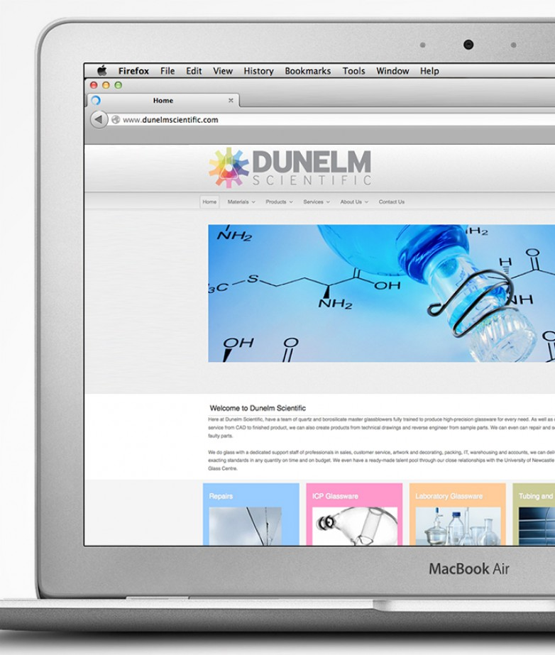 Dunelm Scientific Web Site