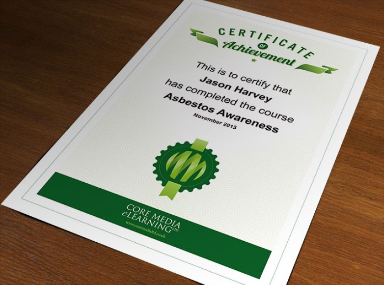 Core Media eLearning Certificate